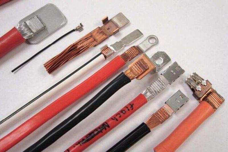 20kHz超声波金属焊接机-线束焊接效果图